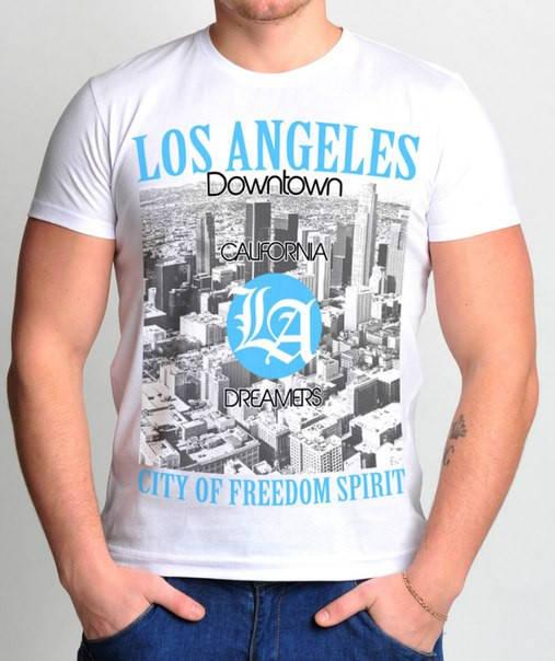"""Футболка классическая """"Los Angeles"""""""