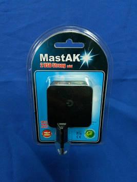 Зарядное устройство MastAK MF-224 ( USB 5v 2.4A )
