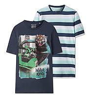 Набор качественных футболок на подростка 9-10 и 11-12 лет от C&A  Размер 134/140, 146/152