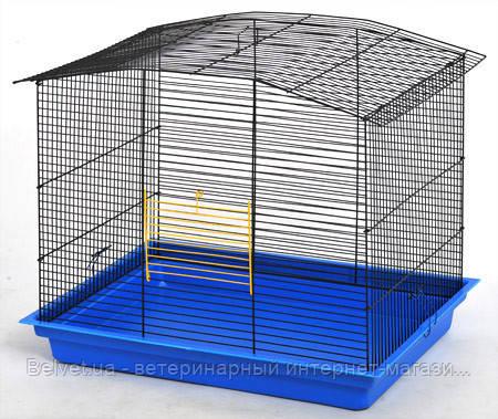 Клетка Комби для грызунов, разборная565х400х480 мм