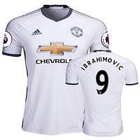 Футбольная форма 2016-2017 Манчестер Юнайтед (Manchester United) Ibrahimovic резервная