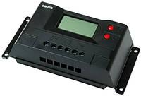 Контроллер заряда CM30D+USB (30A 12/24В) с дисплеем
