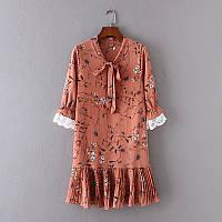 Свободное платье с рюшем внизу, фото 1