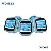 Детские часы с GPS Wonlex GW 200s