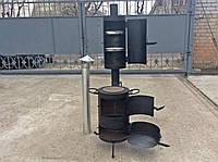 Печь для казана с коптильней, фото 1