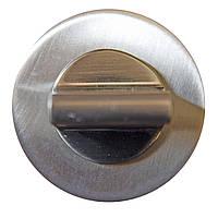 Накладка дверная под WC 12W никель матовый