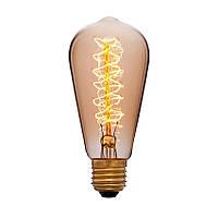 Лампа Эдисона ST64-А 60W 20 якорей, спираль