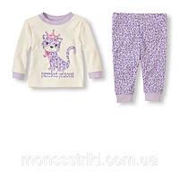 Детская пижама для девочки. 12-18, 18-24 месяца