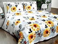 Комплект постельного белья двуспальный Евро 200*215 хлопок 100%, бязь Люкс