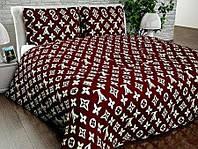 Комплект постельного белья полуторный 150*210 хлопок 100%, бязь Люкс