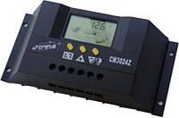 Контроллер заряда СМ3024Z (30А 12/24В) с дисплеем