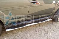 Боковые подножки Труба Nissan Juke  60мм