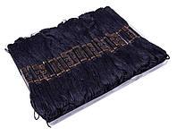 Нитки Мулине для вышивания (50мотковх8m) черное