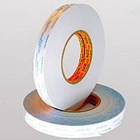 От 4мм до 1000мм\50метров  Полупрозрачная лента(нетканая основа / лайнер - бумага белого цвета с маркировкой.