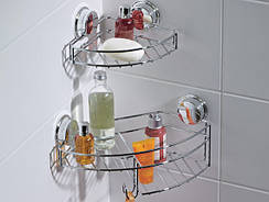 Полки для ванной