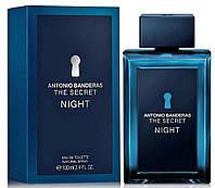 Оригинал Antonio Banderas The Secret Night 100ml edt Антонио Бандерас зе Секрет Найт