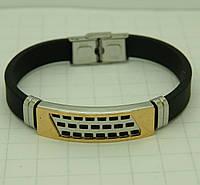 120 Мужские браслеты, украшения из каучука со сталью оптом в Одессе на 7 км.