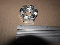 Гайка М20 прорезная пальца рулевого ЗИЛ (производитель Россия) 303286