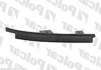 Накладка/ресничка под правую фару 97-03 Nissan Patrol 97-09