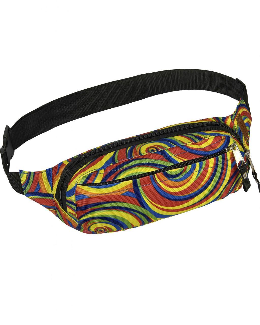 3883e1d32292 Поясная сумка разноцветная SOL Song Surikat (бананка, сумка на пояс) - Интернет  магазин