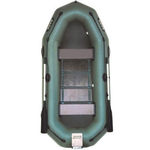 Надувная лодка BARK гребная двухместная с навесным транцем (В-260 N/Р)