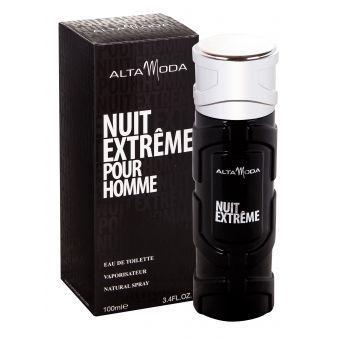 Мужская туалетная вода Nuit Extreme 100ml. Alta Moda