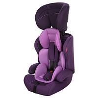 Автокресло детское M 3475-2 (9-36кг) фиолетовое