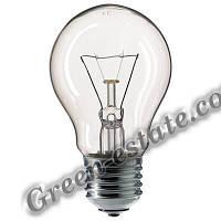 Лампа накаливания 100 Вт, гофра