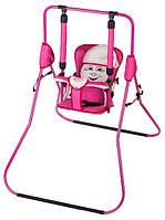 Качель Casper розовый-бежевый