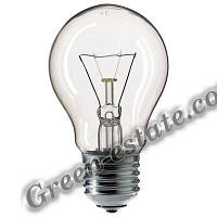 Лампа накаливания 60Вт прозрачная