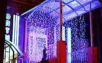 Светодиодная гирлянда Занавес уличная 120 LED 2х2 метра