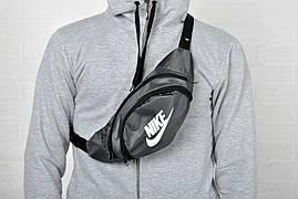 Сумка барыжка Nike, бананка, поясная сумка, сумка на грудь реплика