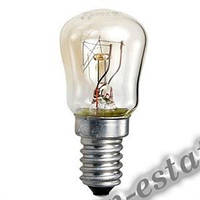 Лампа РН-15Вт, гофра, для холодильников, швейных машин.