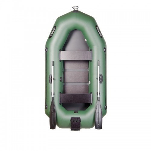 Надувная лодка BARK гребная трехместная с навесным транцем (В-280 N)