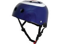 Шлем детский Kiddi Moto синяя мишень, размер M 53-58см (HEL-11-99)