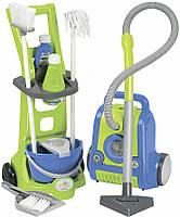 Пылесос и тележка для уборки Ecoiffier (001770)