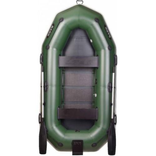 Надувная лодка BARK гребная трехместная с навесным транцем (В-280 N/Р)