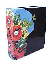 Папка-регистратор, А4, 70 мм, полноцветная, РР-покрытие, металлический кант
