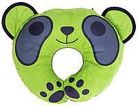 Подголовник-подушка Baby Shield зеленая - серая