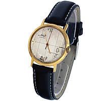 Позолоченные противоударные пылевлагозащищенные часы Мир 18 камней -腕表 poljot de luxe