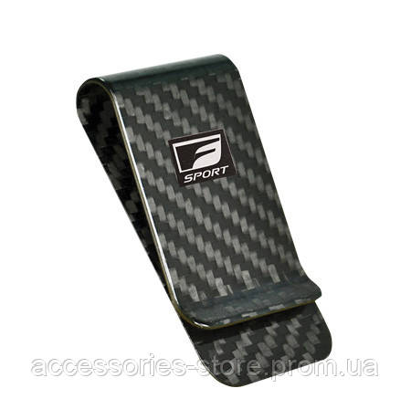 Зажим для банкнот Lexus Money Clip Carbon F Sport