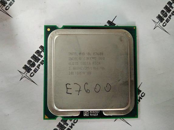 Intel Core 2 Duo Processor E7600 (3M Cache, 3.06 GHz, 1066 MHz FSB), фото 2
