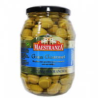 Оливки зеленые с косточкой Maestranza Gran Gourment  950 гр.