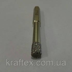 Коронка алмазная  D8х80 мм