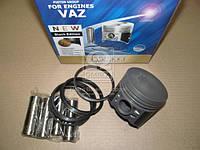 Поршень цилиндра ВАЗ 2101,2103 d=76,0 грубойD М/К (Black Edition+п.п+п.кольца) (МД Кострома) 2101-1004018