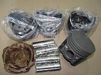 Поршень цилиндра ВАЗ 2101,2103 d=76,8 грубойB М/К (Black Edition+п.п+п.кольца) (МД Кострома) 2101-1004018-БР