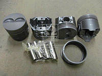 Поршень цилиндра ВАЗ 2105 d=79,8 грубойA М/К (Black Edition+п.п+п.кольца) (МД Кострома) 2105-1004018-БР