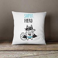 Декоративная подушка для Супер Героя
