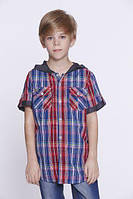 Детская рубашка шведка для мальчиков ТМ Glo-story BCS-8146, Венгрия