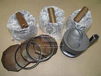 Поршень цилиндра ВАЗ 21083,11113 d=82,0 грубойE М/К (Black Edition+п.п+п.кольца) (МД Кострома) 21083-1004018